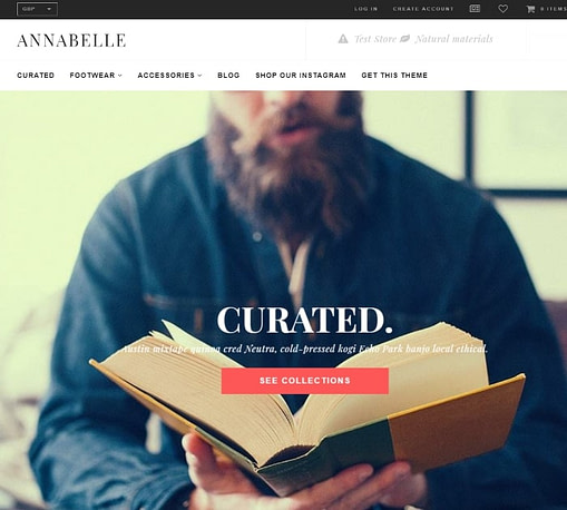 Anabelle shopify theme