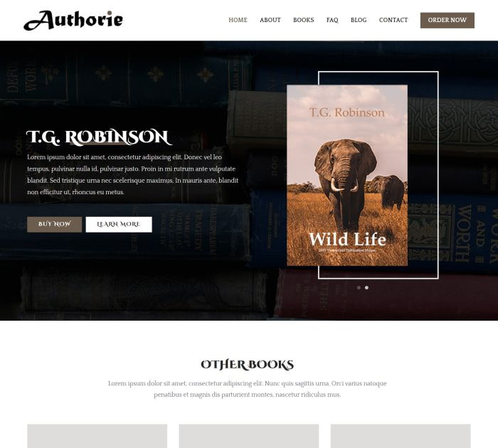 Best free WordPress themes for writers: Zakra