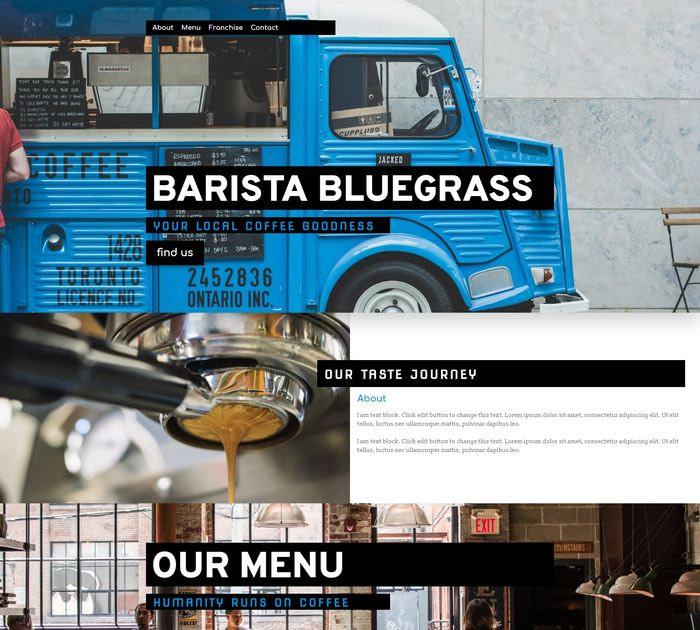 Barista Bluegrass