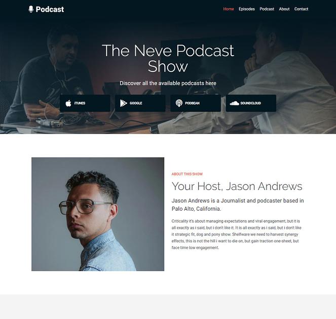 Neve Podcast