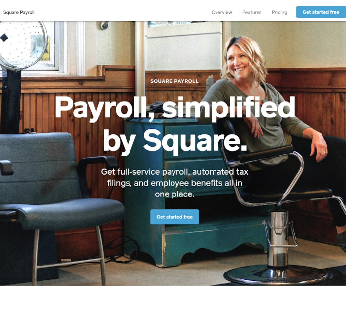 Best payroll software: Square