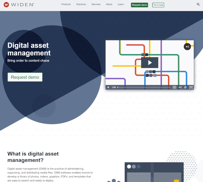 Best digital asset management software: Widen
