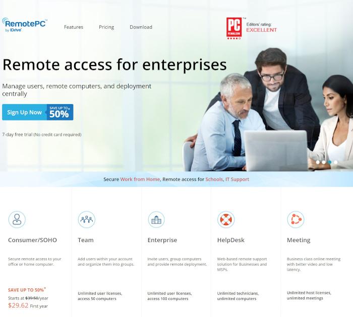 Best employee scheduling apps: RemotePC