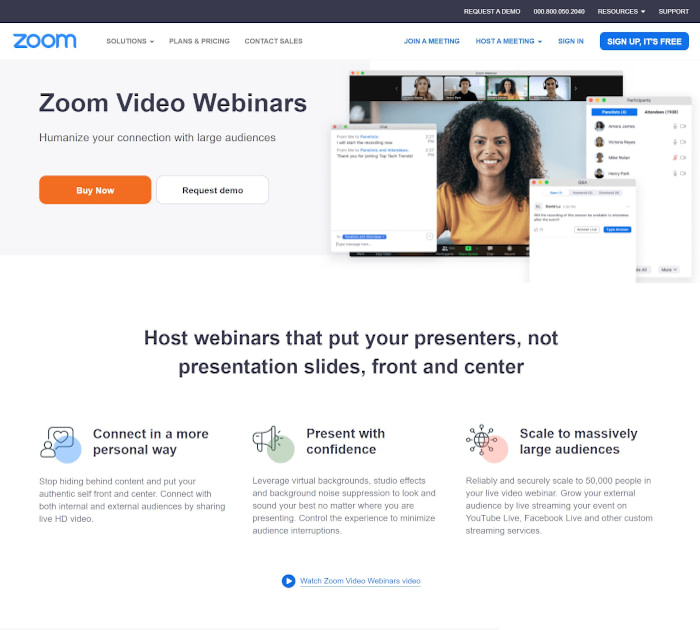 Best conference call services: Zoom