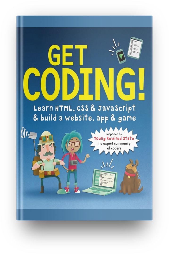 Best HTML/CSS books: Get Coding