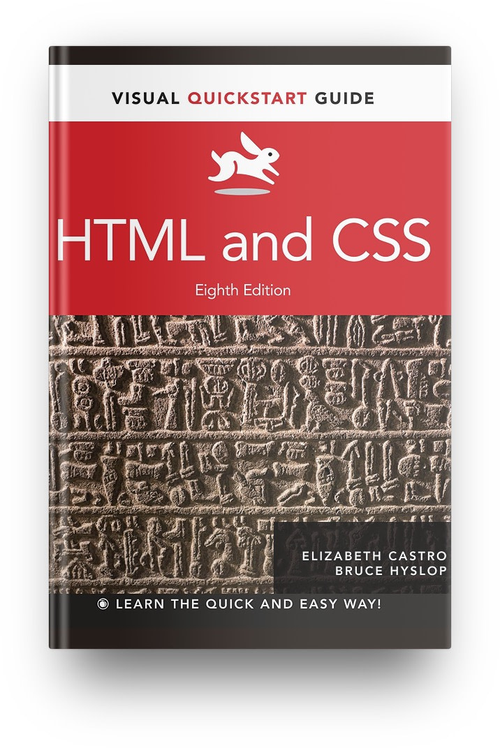 Best HTML/CSS books: HTML and CSS: Visual Quickstart Guide
