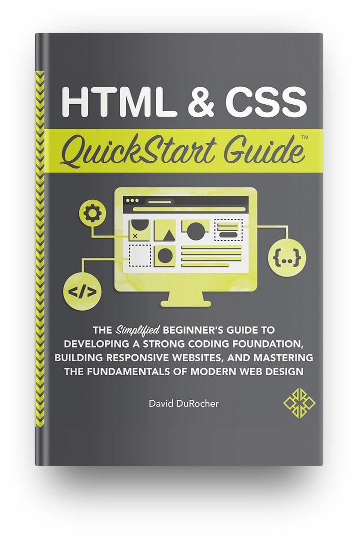 Best HTML/CSS books: HTML and CSS Quickstart Guide