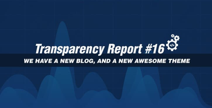 Transparency Report 16