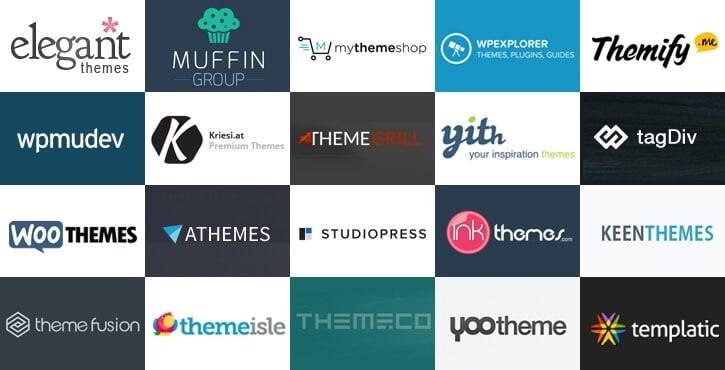 WordPress Theme Shop Directory 2019