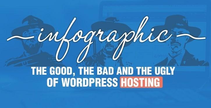 infographic WordPress hosting survey