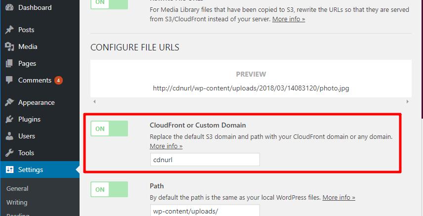 use s3 with a cdn