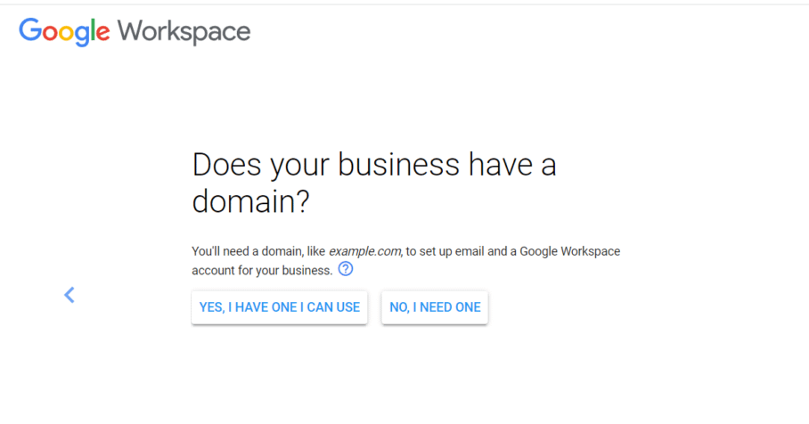Setting up custom email address with Google Workspace