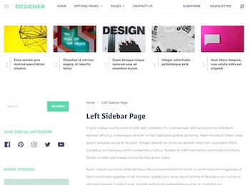 designer post