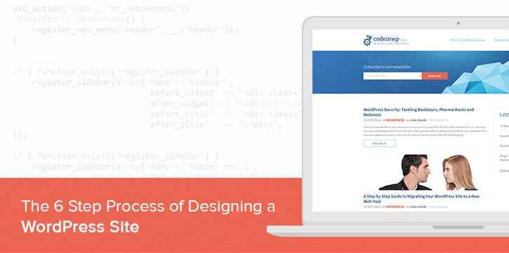 The 6-Step Process of Designing