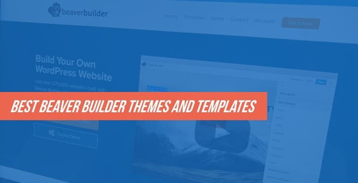 best Beaver Builder themes and templates