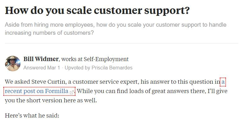 Use Quora to promote your blog posts