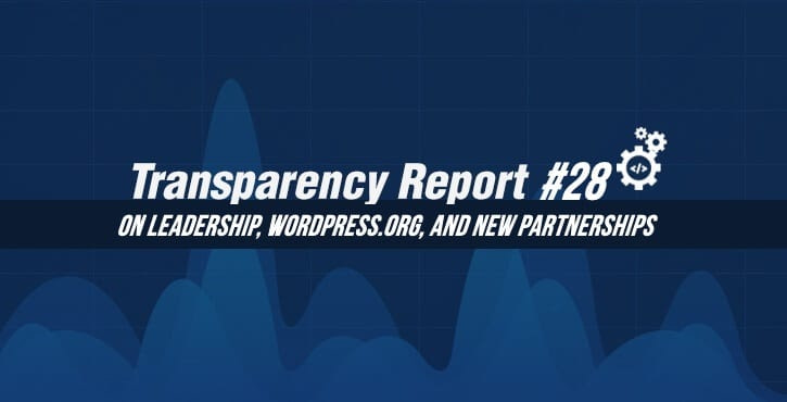 transparency report 28