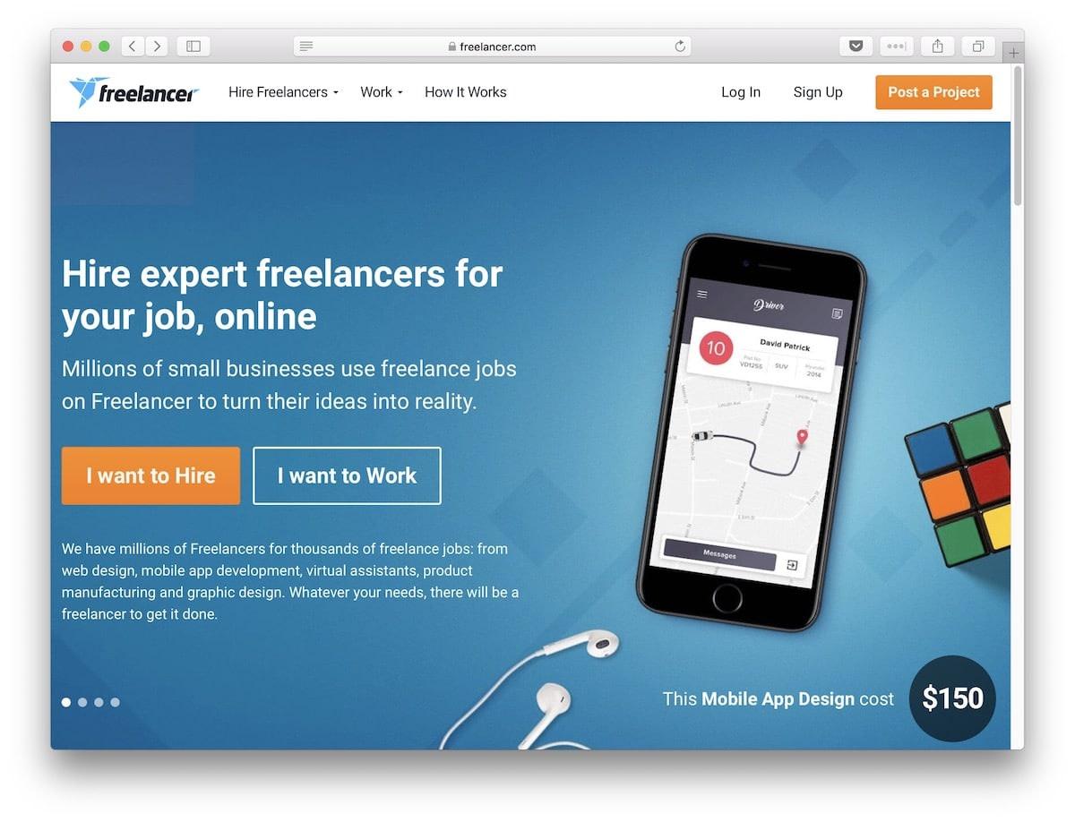 Freelancer.com marketplace