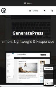 generatepress mob