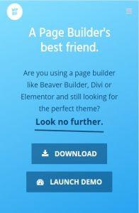 page builder framework mob