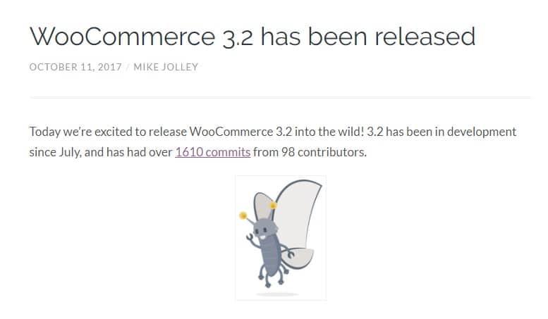 WooCommerce 3.2