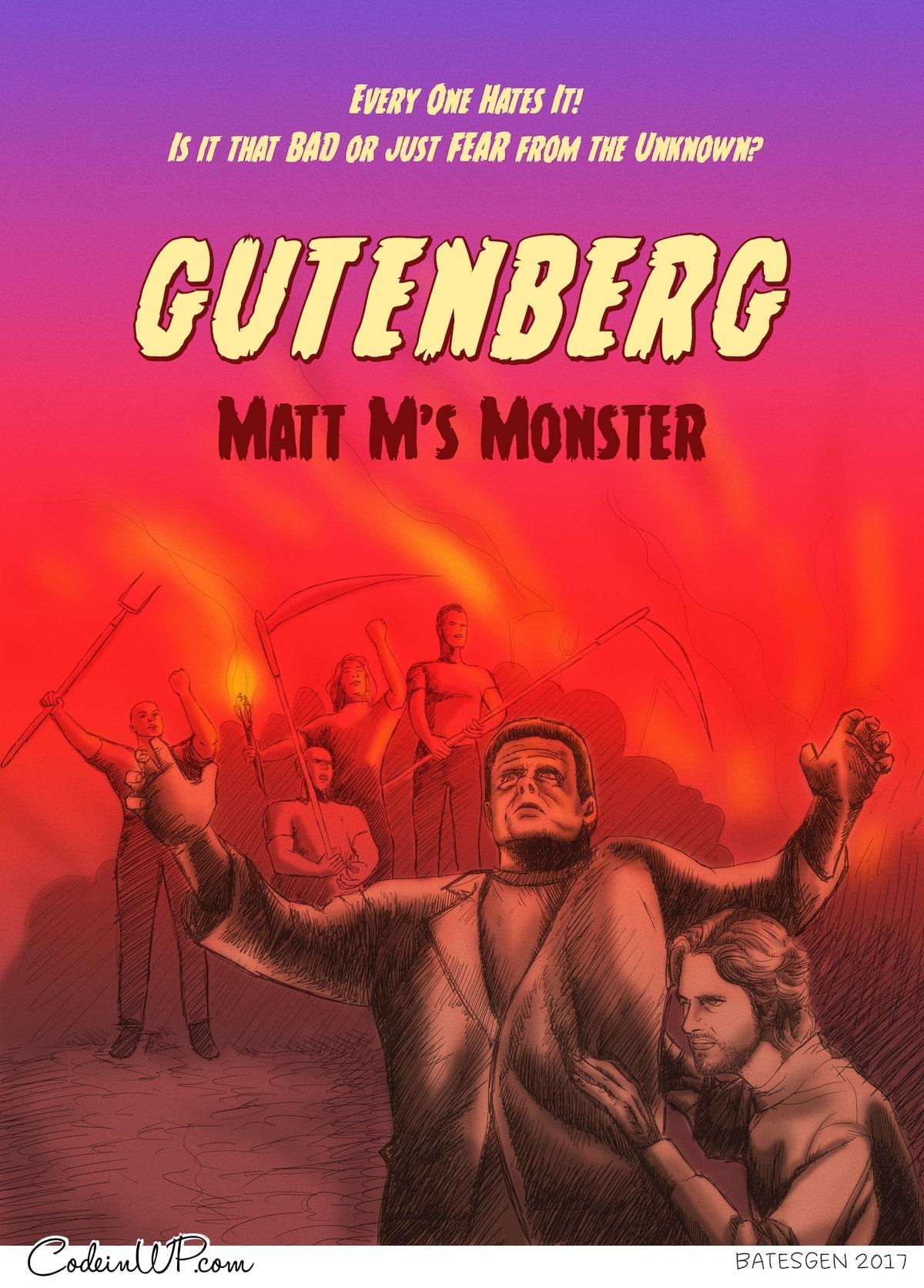 Gutenberg, is still not core. Not yet