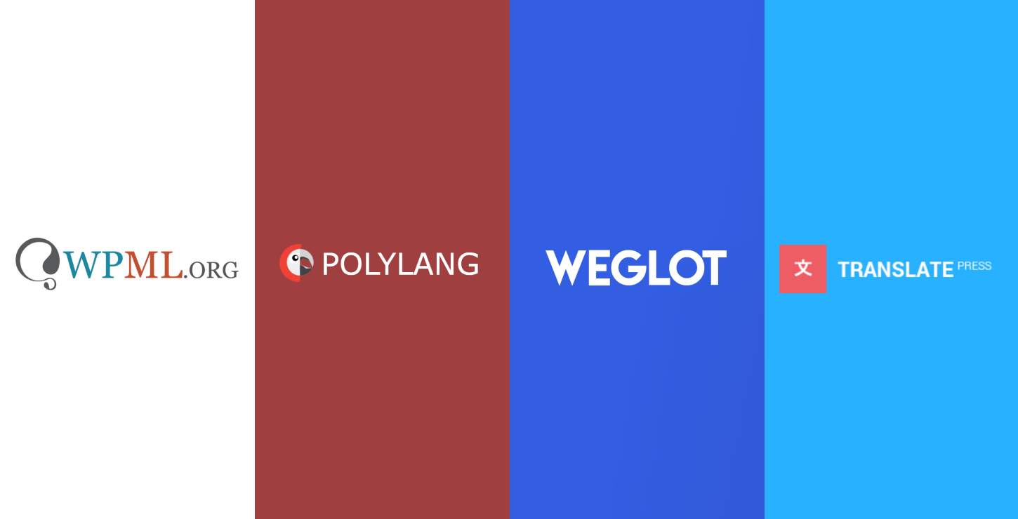 Best WordPress translation plugin: WPML vs Polylang vs Weglot vs TranslatePress