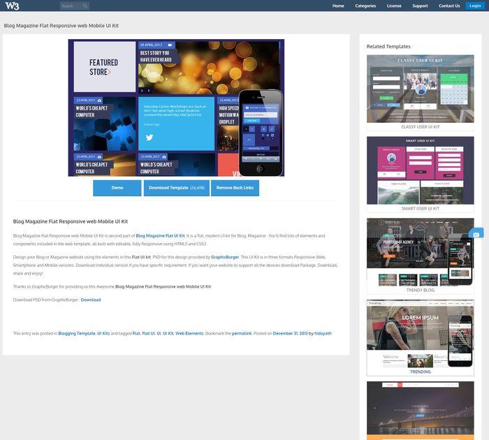 Blog Magazine UI Kit