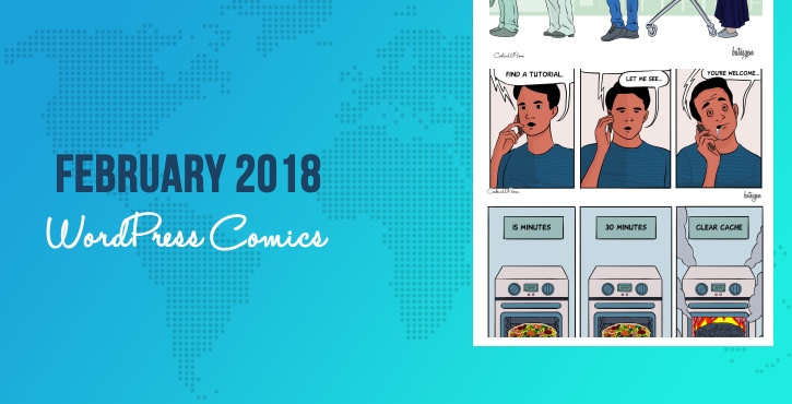 February 2018 WordPress Comics