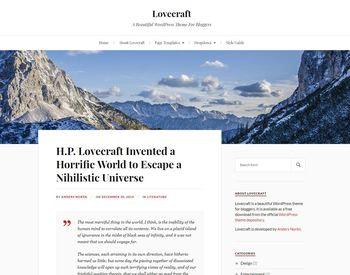 Lovecraft view