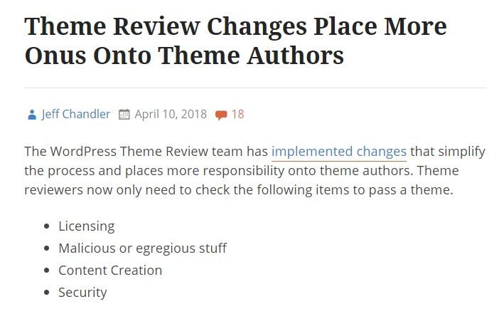 theme changes