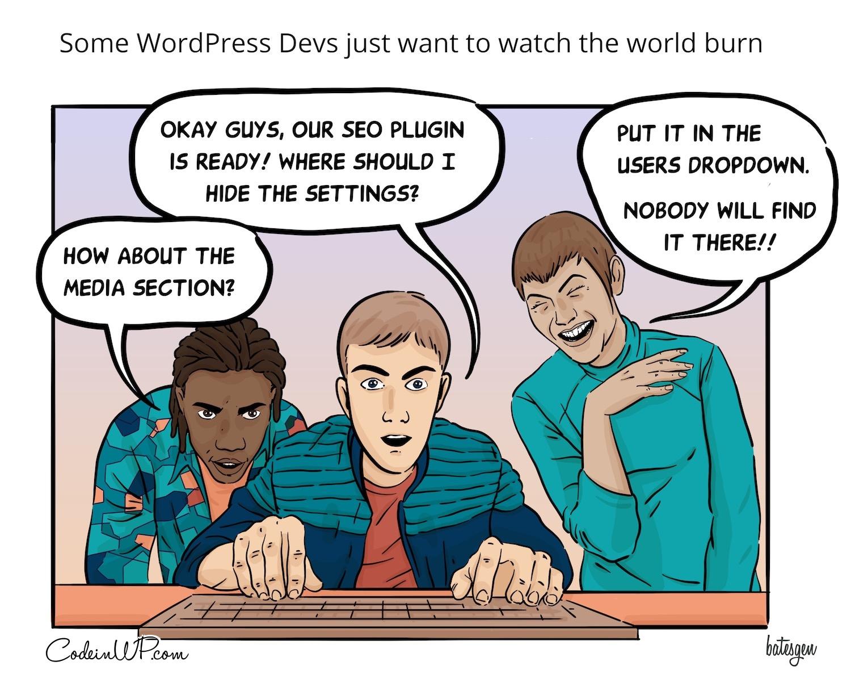 Evil WP Devs