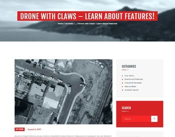 Drone Media view