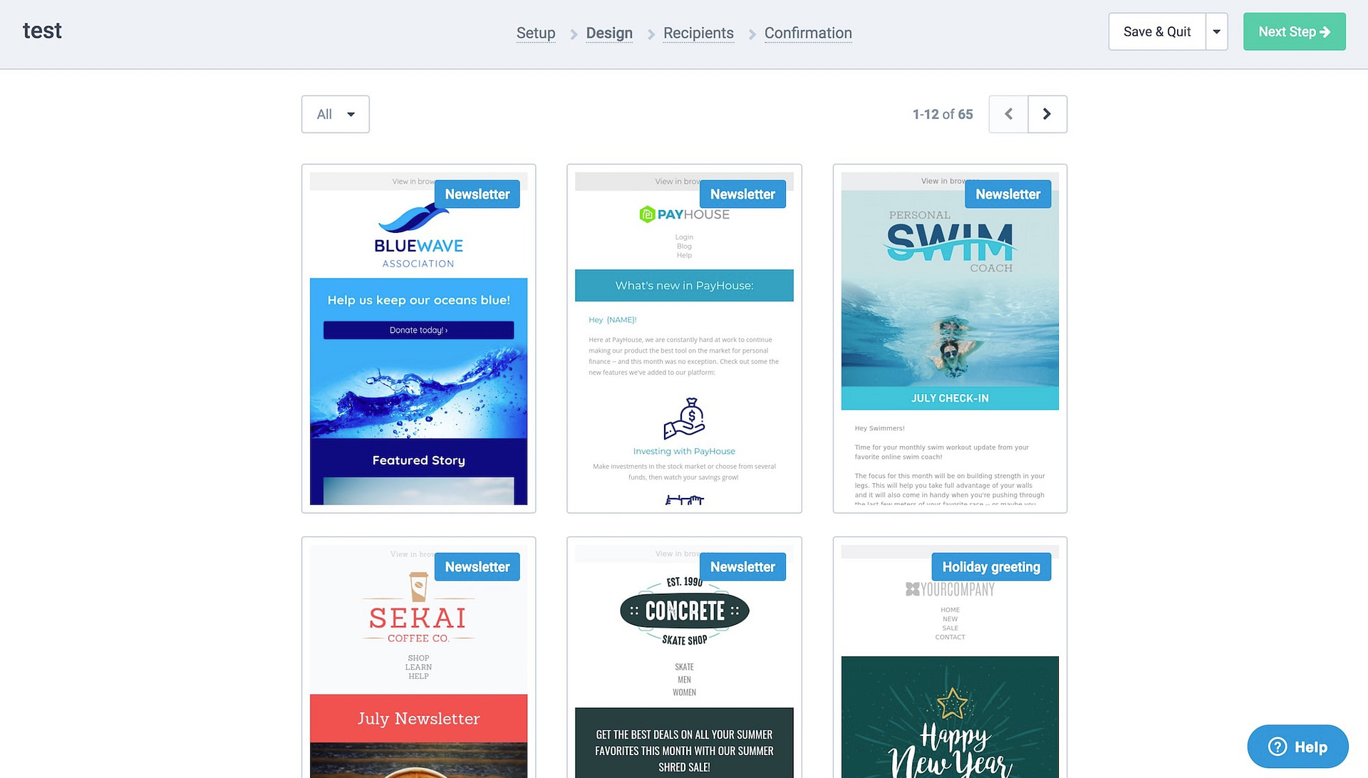sendinblue templates