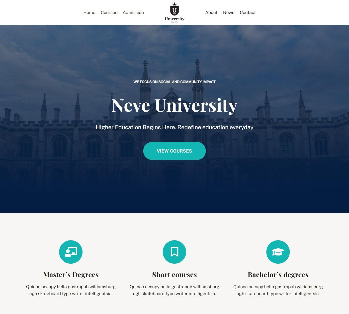 Neve University