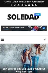Soledad on mobile