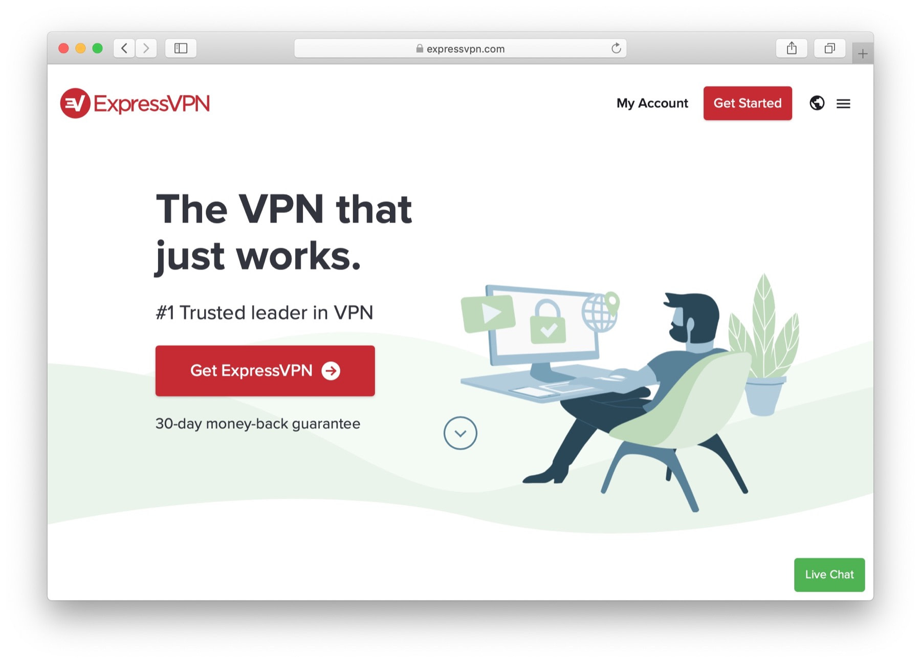 expressvpn is one of the best vpn services for WordPress users