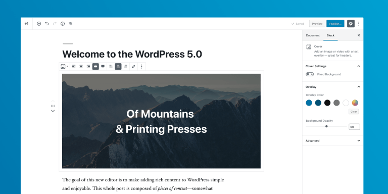 december 2018 wordpress news - wordpress 5.0 release candidate