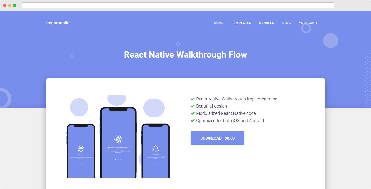 React Native Walkthrough
