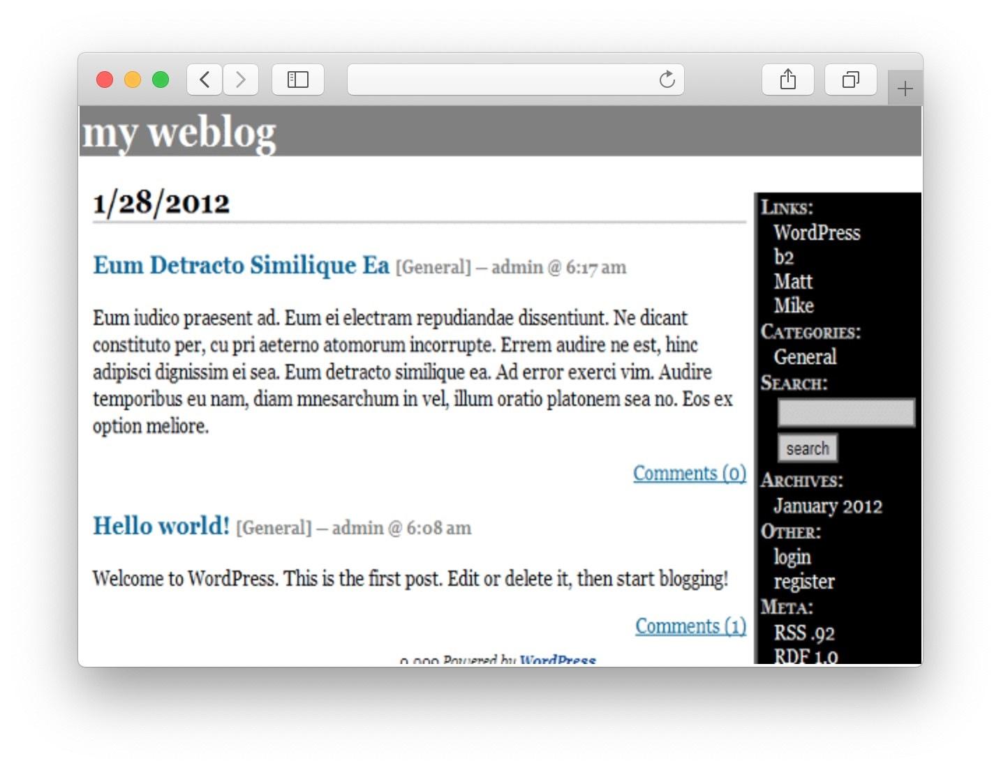 WordPress Design from b2layout