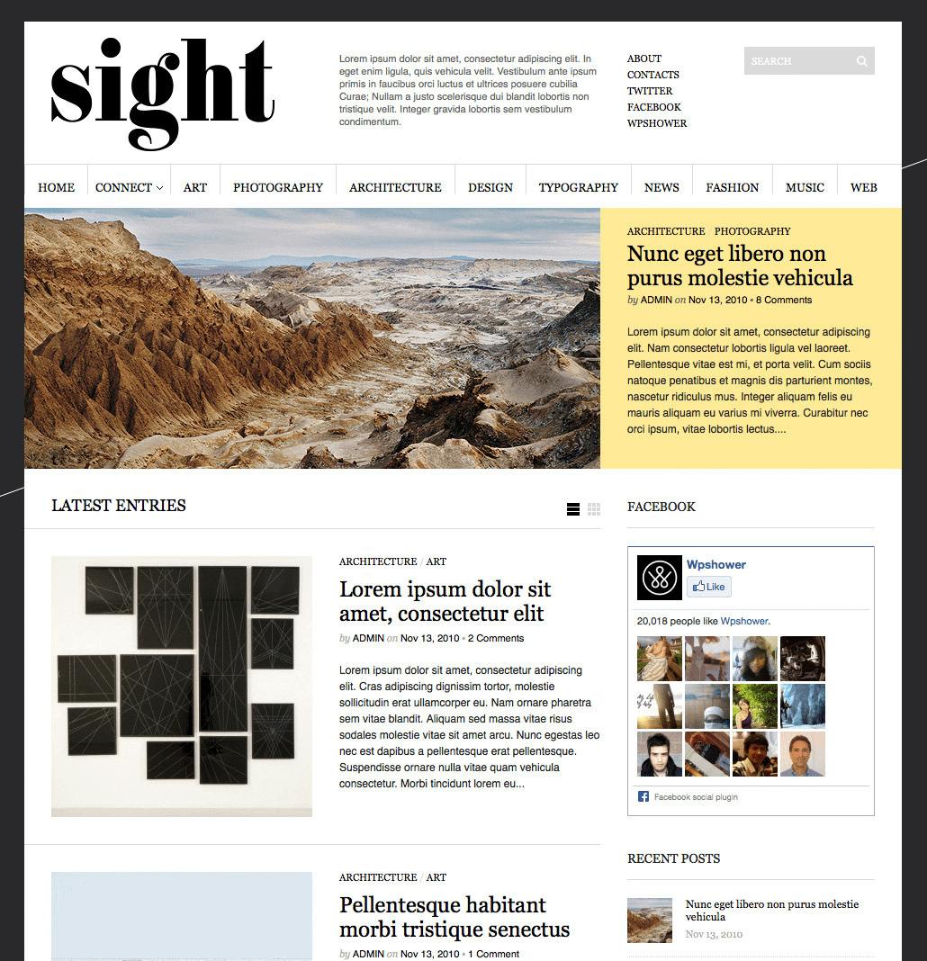 Sight theme