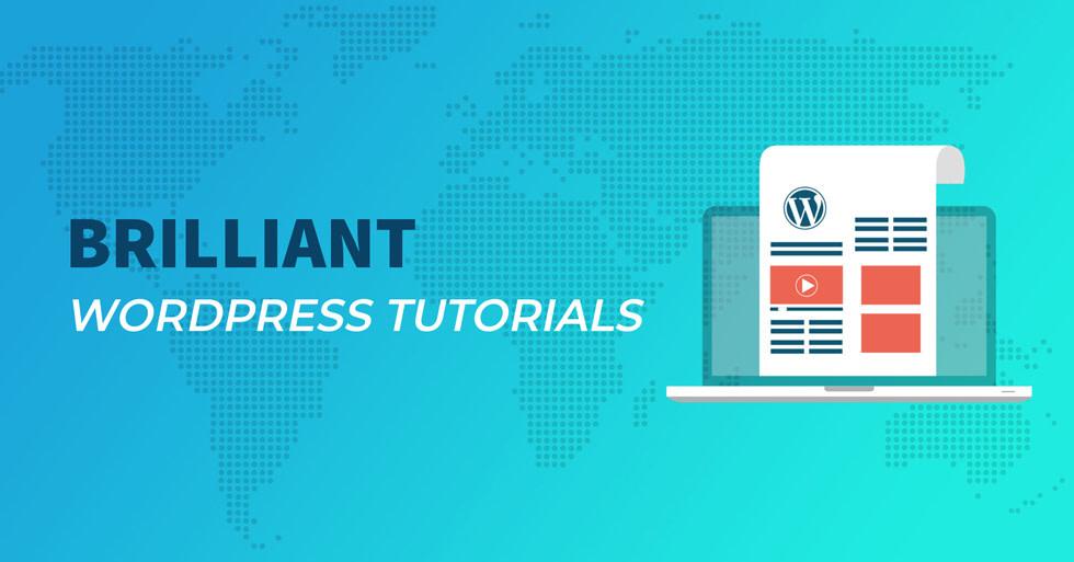 Brilliant WordPress tutorials