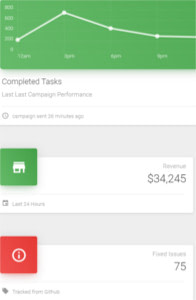Vuetify Material Dashboard on mobile