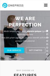 onepress on mobile