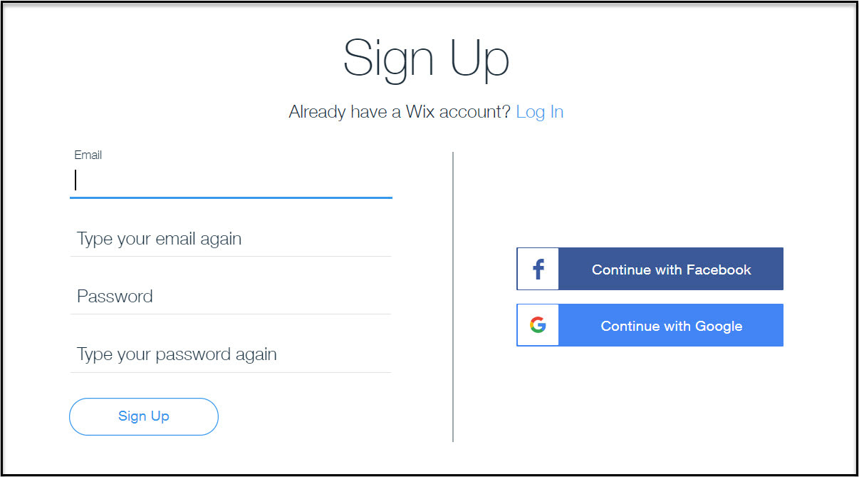 how to build your own website with Wix