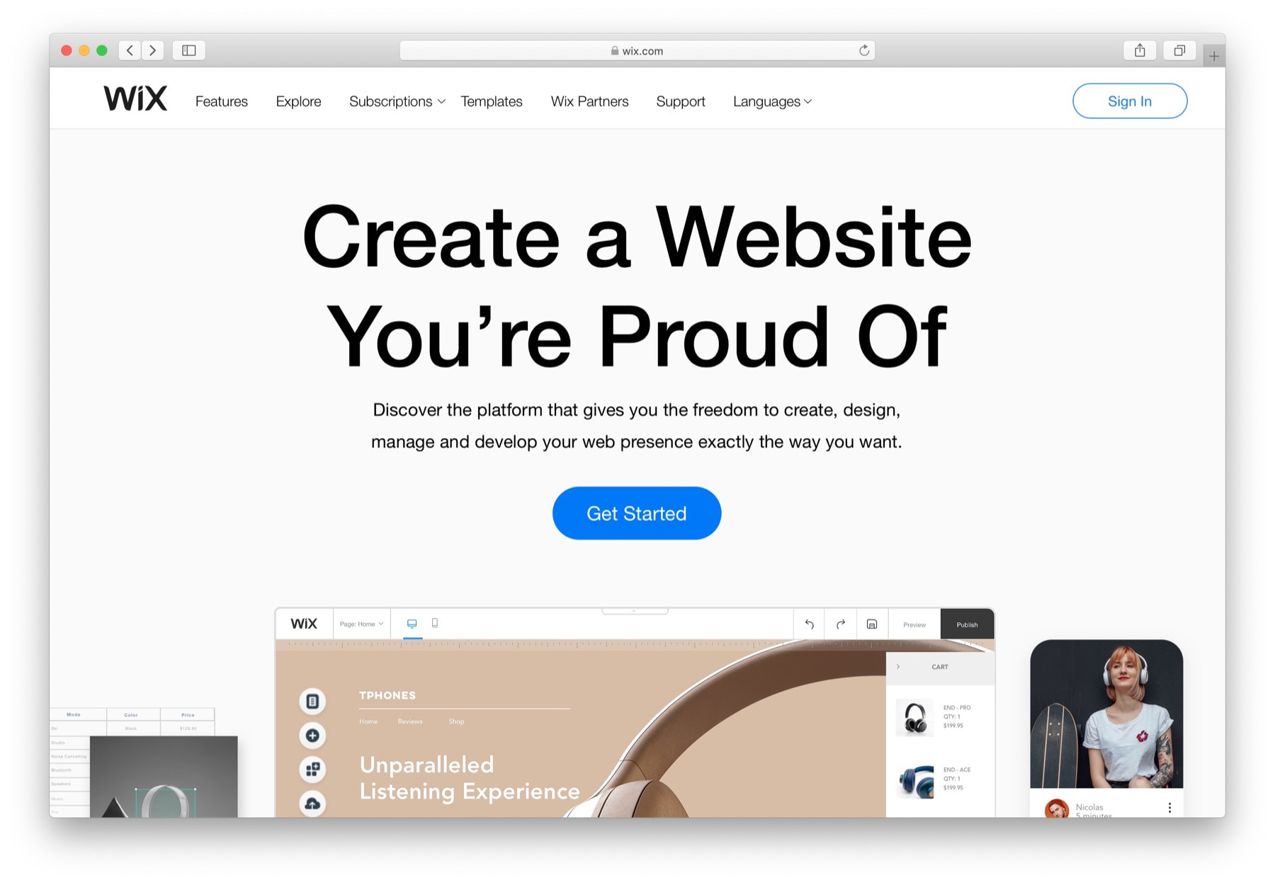 Best website builder for small business: #1 wix