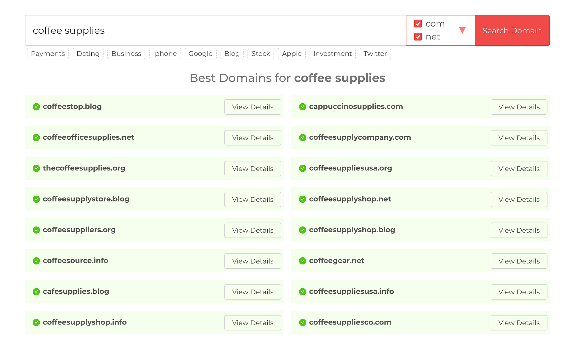 domainwheel names