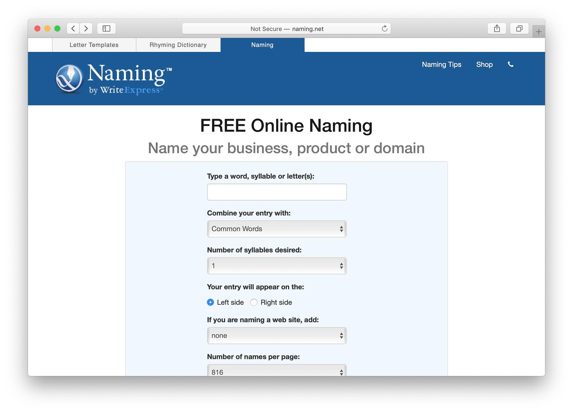 Best free business name generators: Naming