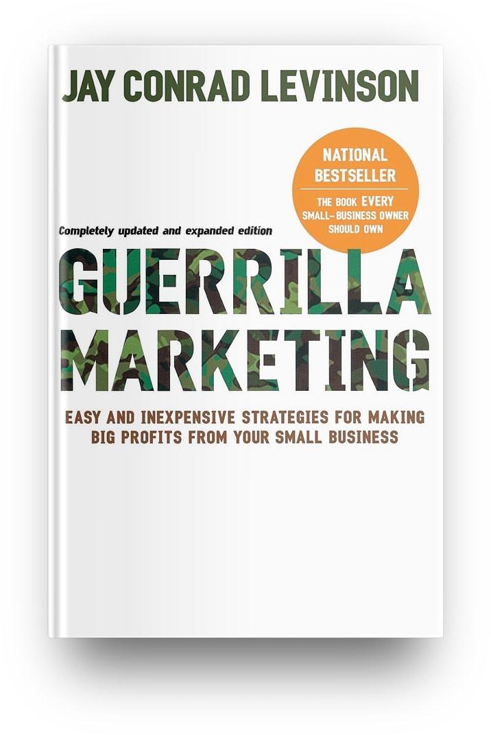 Best business books: Guerilla Marketing