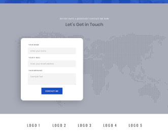 Flatkit CMS - UI Kit website template view